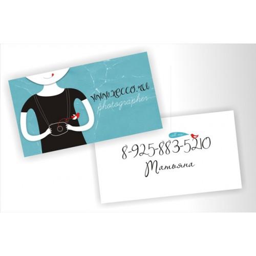 визитка таня