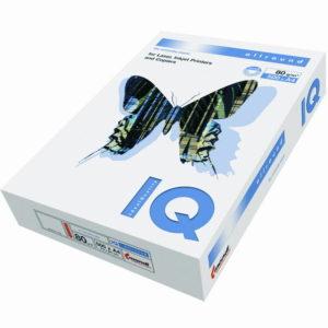 Бумага IQ Allround белая, класс В, 161% бел.A4 500л